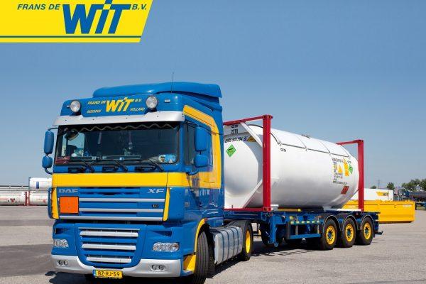 Frans de Wit transport neemt TransportBI in gebruik